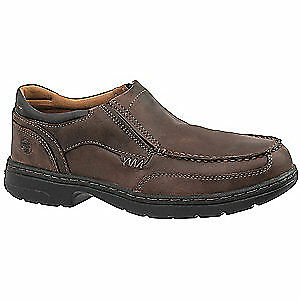 TIMBERLAND PRO Work Boots,Mens,15,M,Slip On,Cemented,PR, 91694, Brown Distressed
