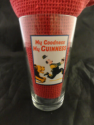 Guinness Heritage Beer Glass Lion - Zoo Series