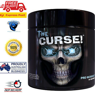 Cobra Labs The Curse Pre-Workout Pina Colada 50 Serves FREE EXPRESS POST