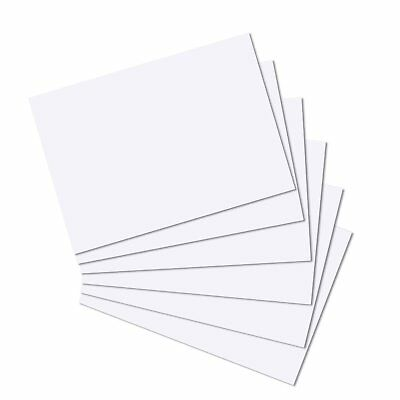 White A6 Card 300gsm 50 Sheets