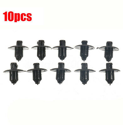 Black 10Pcs Engine Side Cover Clips Retainer For Toyota ES IS Lexus durable lots