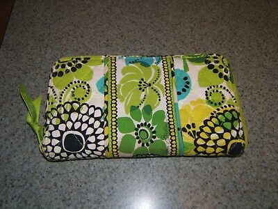 Vera Bradley Lime's Up Large Accordion Wallet