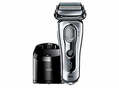 Brand New BRAUN Series 9 9095CC MENS SHAVER Wet & Dry with Clean Charge station