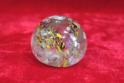 1850's Old Vintage Antique Beautiful Solid Glass Paper Weight Collectible PK-70
