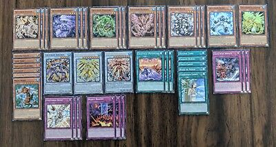 Yu-Gi-Oh Crystron Synchro Deck with Extra Deck