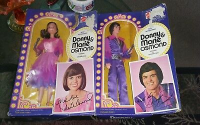 VINTAGE MATTEL DONNY and  MARIE DOLLS IN ORIGINAL BOXES