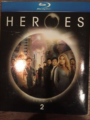 Heroes Complete Season 2 Blu-ray Discs BluRay NBC TV Show