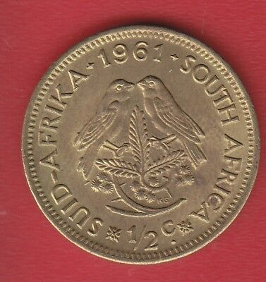 South Africa  1/2 C 1961
