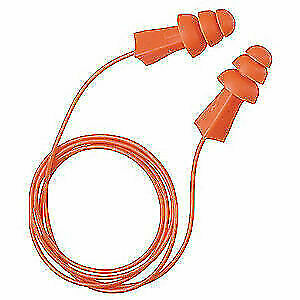TASCO Ear Plugs,Corded,Flanged,27dB,PK100, 9010