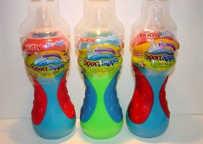 Nuby No-Spill Sport Sipper, 10 Ounce Colors May Vary