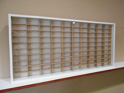 Showcase, Wall Display case cabinet for 1/64 scale cars (hot wheels, matchbox) V