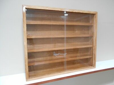 Showcase, Wall Display case cabinet shelves for collectibles (cars,others) B
