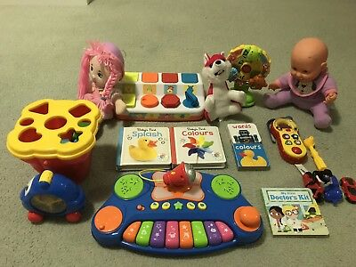 Mixed Toddler Toys - 18 Pieces - Suitable For Ages 1 to 5