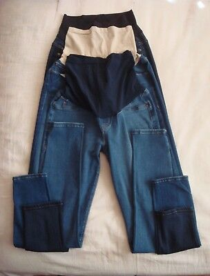 A Pea in the Pod Full Belly Panel Skinny Jeans Size 29Lot of 3