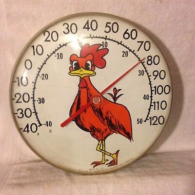 The Original OHIO Jumbo Dial by Thermometer Corp. of America USA Roadrunner 60's