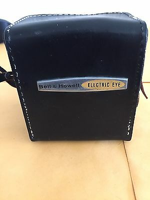 Vintage Bell & Howell Electric Eye 127 Film Camera with leather case