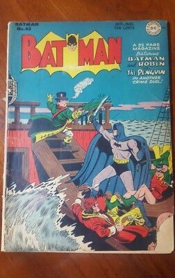 Batman #43 (DC, 1947)