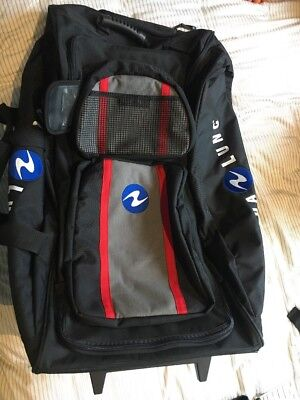 Aqua Lung Scuba Diving Bag 'red Line 1600'- Great Condition