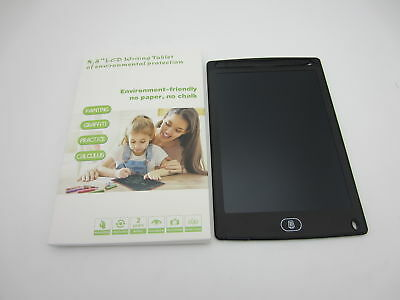 """8.5/"""" LCD Writing Tablet Pad for Boogie Board Jot Style eWriter Boards Stylus BK"""