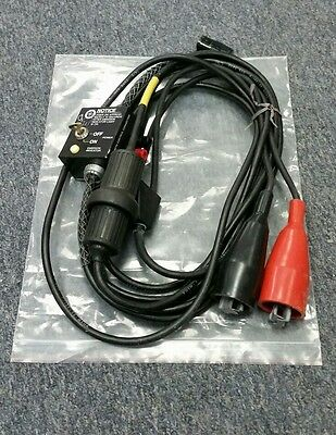 Laser Alignment 12V Power Cord w/ keyed on off switch, Construction Laser