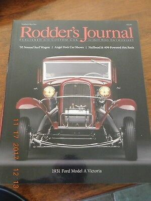 The Rodder's Journal Issue #55 - Nomad Surf Wagon - 1931 Ford Model A Victoria