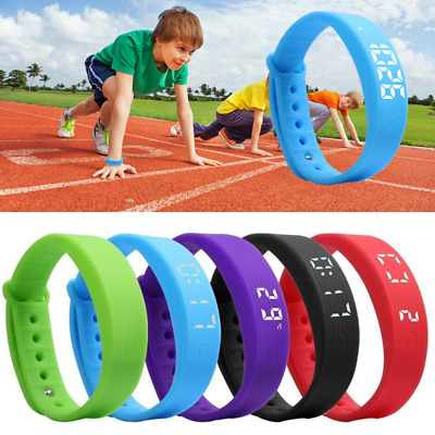 Family Gym Bracelet Pedometer Fitness Band Fitbit Styled Watch Activity Tracker