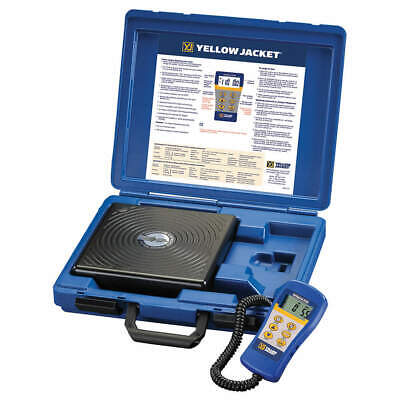 YELLOW JACKET Refrigerant Scale, Electronic, 220 lb., 68812