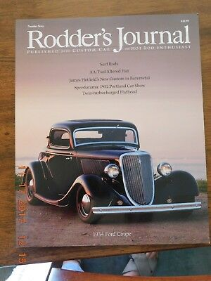 The Rodder's Journal Issue #60 Surf Rods  1934 Ford Coupe  James Hetfield Custom