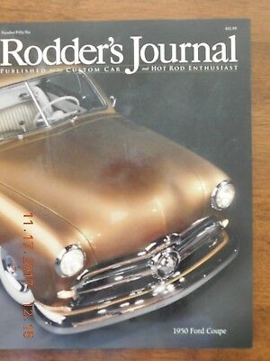 Rodder's Journal 56. 1950 Ford Coupe. 1934 Ford Roadster. Very good. Like new