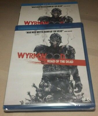 Wyrmwood: Road of the Dead (Blu-ray, Slipcase,  SCREAM) BRAND NEW SHIPS FREE