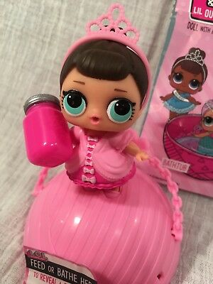 L.O.L. Surprise Doll Fancy Lil Outrageous Littles! Series 1 Retired, Rare! LOL