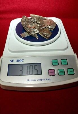 🎁One (1) TROY ounce🎁 of  925/1000 parts pure Sterling silver ⛄SCRAP⛄