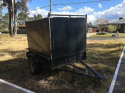 BOX TRAILER enclosed  6 x 4 x 4  SUIT CAR 4X4 CAMPING KINGSWOOD NSW