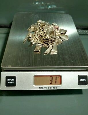 ❄️One (1) TROY❄️ ounce of  925/1000 parts pure Sterling silver ⛄SCRAP⛄