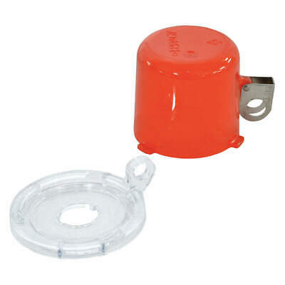 BRADY Push Button Lockout,16mm,Plastic, 134018