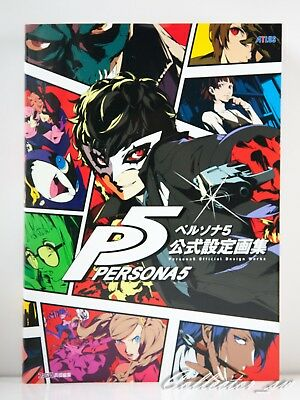 3 - 7 Days | Persona 5 Official Design Works Art Book from JP