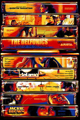 "001 Jackie Brown - Crime Thriller1997 USA Classic Movie 24""x36"" Poster"
