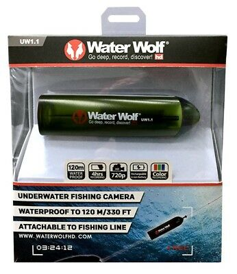 Water Wolf Kamera Unterwasserkamera UV Camera 1.1 Waterwolf, Action Kamera