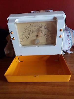 Rare Krups Vintage Original Wall Mounted Kitchen Scales Retro