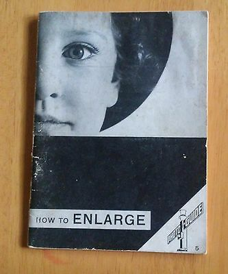 How to enlarge (The photo-guide) by W Peterhans (Author) 1937  41 pages