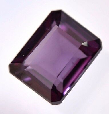Ring Cut Gem AGSL Certified 6.65 Natural Purple Changing Sapphire 10x8mm Stone