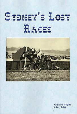 NEW BOOK RELEASE. Sydney's Lost Races by Barry Collier