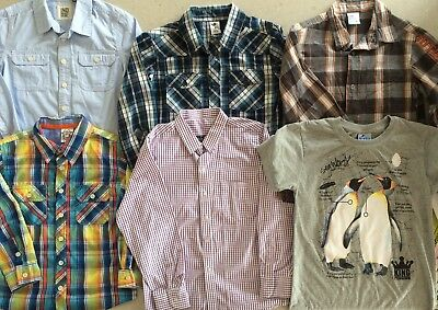 Bulk Boys Clothes Size 6 Pants Shorts Shirts T-shirts 39 Items