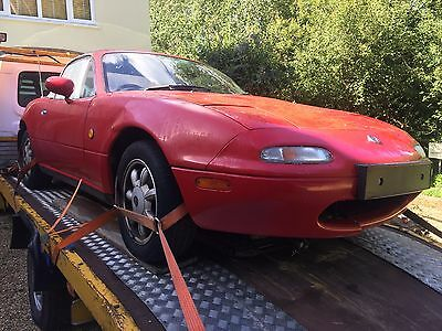 Mazda MX5 MK1 NA Eunos Classic Red Breaking for Spares All Parts Available