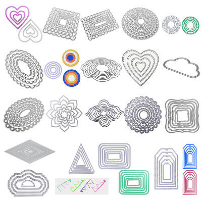 DIY Metal Cutting Dies For Scrapbooking Embossing Folder Craft Paper Card Decor