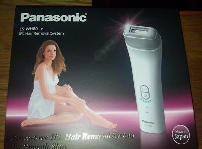 Brand New in a Box Panasonic IPL Hair Removal System Model No. ES-WH80
