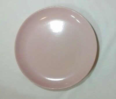 """Russel Wright Iroquois Casual China Dinner Plate 10"""" Pink Sherbert"""