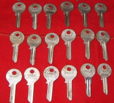 18 Yale & Towne Mfg. Co. Blank Keys:  3 Of 3 Listings