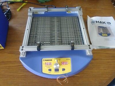 HAKKO FR-1012 SMD Rework Board Preheater Table