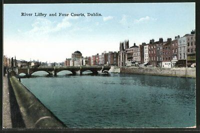 AK Dublin, River Liffey and Four Courts